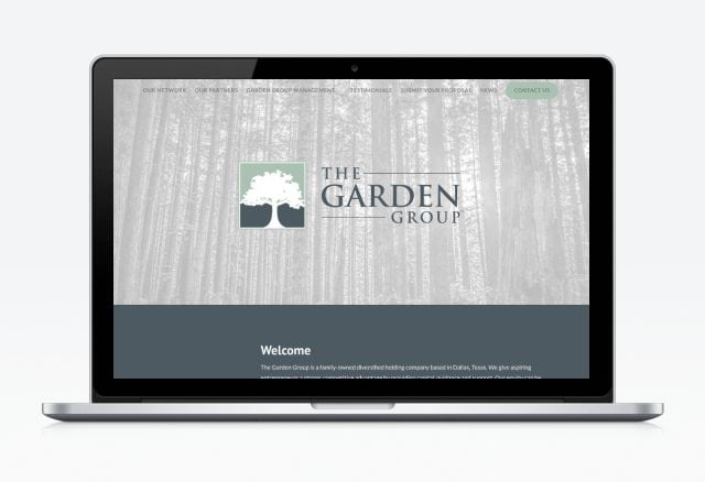 Garden Group Website Designed By Moonshot Marketing