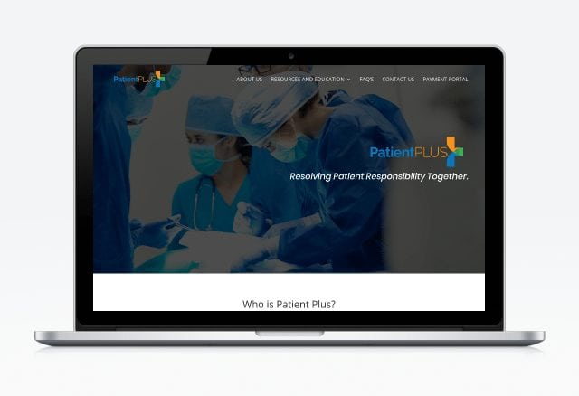 Patient Plus Group Website Designed By Moonshot Marketing